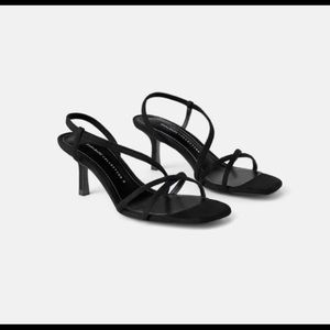 Zara mid-heel sandal